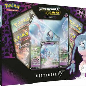 Pokémon TCG Champions Path Hatterene V Collection Booster Box Pokemon Sealed