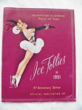 New listing 1951 Ice Follies 15Th. Anniversary Edition Program