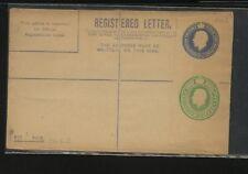 Great   Britain   double embossed postal registered envelope          MS1116