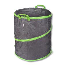 Schramm® Pop-Up Gartensack 137L Grün / Grau Sehr Stabiles Polyester Oxford