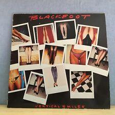BLACKFOOT Vertical Smiles 1984 UK/German pressed Vinyl LP  EXCELLENT CONDITION a