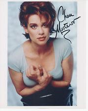 CHASE MASTERSON Signed 10x8 Photo LEETA In STAR TREK COA