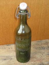 Ancienne bouteille de limonade Rognin Trapet Rives Isère
