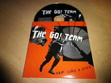 THE GO! TEAM - GRIP LIKE A VICE!!!!!!RARE EURO  PROMO CD!!!!!