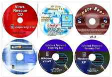Computer Repair, Data Recovery, Password Restore, Drivers & Virus Recover 6 disk