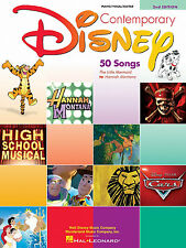 Contemporary Disney 2nd Edition PVG Piano Vocal Guitar Song Book Songbook