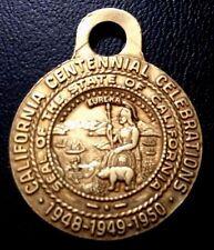 1948-49-50 / Bronze Medal / California Seal / San Francisco / Cable Car / M93