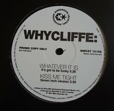 "WHYCLIFFE ~ Whatever It Is ~ 12"" Single PROMO"