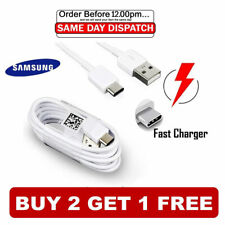 Samsung Galaxy Tab A, S4, S5e (2018-2019) Fast Charger USB Data Cable Type-C