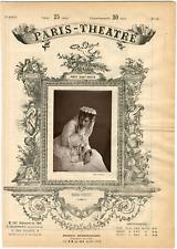 Cliché Quinet Alexandre, Paris-Théâtre, Dica-Petit née Déodice Petit, actrice Vi