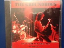 THE. GROUNDHOGS.        LIVE AT  THE NEW YORK CLUB.         SWITZERLAND  1991.