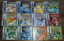 Pokemon Repro Cover Hülle Game Boy Color Nintendo DS Aufbewahrung