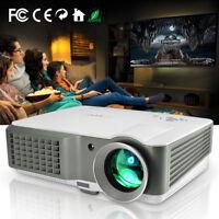 4000Lumens HD LCD LED Video Beamer Projektor Heimkino Film Spiel USB HDMI 1080p
