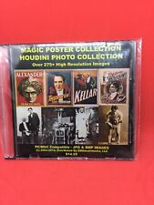 Magic Posters/Houdini Photo Collection - 2 Disk Set Cd/Dvd 2500dpi files