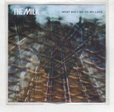 (HU331) The Milk, What Did I Do To My Love - 2015 DJ CD