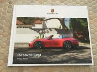 PORSCHE 911 992 TARGA 4 & TARGA 4S PRESTIGE BROCHURE USA EDITION 2020-2021 NEW