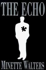 The Echo by Minette Walters (1997, Hardcover) Signed, 1st Ed
