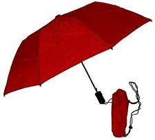 GustBuster Metro 43-Inch Automatic Umbrella (Red) New