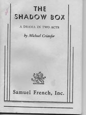 The Shadow Box: A Drama in Two Acts by Cristofer, Michael  Samuel French Inc.