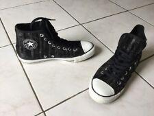 Baskets Converse ALL STAR pt 41 sequins noirs USA impeccables