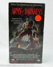 New Sealed Army of Darkness (VHS, 1993) Bruce Campbell Horror, Necronomicon