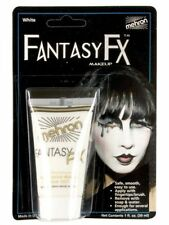 Mehron Fantasy FX White MIME Clown 30ml FACE body PAINT Makeup COSTUME ACCESSORY