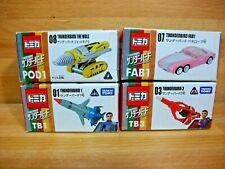 THUNDERBIRDS Takara Tomy Tomica  4 Die cast vehicles NEW Japanese anime import
