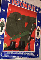 Mego Fighting Yank Army Green Beret Uniform In Package Vintage!