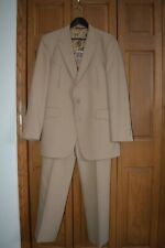 Vtg Western Leisure Suit Nm Johnny Carson Poly 1970s