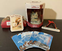 It's A Wonderful Life Enesco brand Christmas Ornaments 2003 and fact cards
