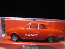 HERPA 044776 Ford Taunus 17 m Limousine zweitürig FEUERWEHR NEU&OVP SC-0656