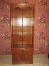 Ethan Allen Heirloom Nutmeg Maple Tall Library Bookcase 10 9026