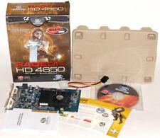 Radeon HD 4650 AGP BOX by Sapphire  ATI 512MB DDR2 DVI