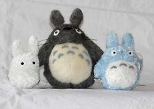 TOTORO ANIME  PLUSH  SOFT TOY  gray+Blue+white   X3PCS