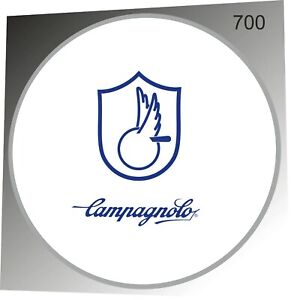 CAMPAGNOLO GHIBLI 700C BLUE REPLACEMENT RIM DECALS FOR 1 DISC!