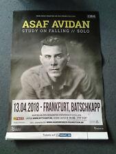 ASAF AVIDAN 2018 *. Original Concert Poster  DIN A 1 = 84 x 59 cm