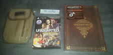 UNCHARTED EDITION TRILOGIE NEUF VF PS3 + GUIDE OFFICIEL COLLECTOR NEUF +SACOCHE