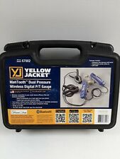 Yellow Jacket 67002 ManTooth Wireless Digital Dual Pressure Gauge Set
