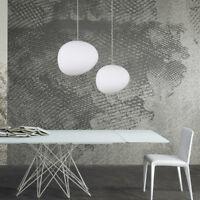 LED Chandelier Modern Ceiling Light Lighting White Glass Pendant Lamp Fixture