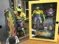 NECA 54189 TMNT Teenage Mutant Ninja Turtles Mondo Gecko 2 Pack Action Figure
