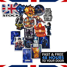 Pack Of 50 Marvel Stickers Iron Man, Thor, Black Widow, Captain America/Marvel