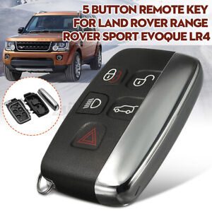 Remote Key Case Shell Fob For Land Rover Range Rover Discovery Sport LR4 Evoque