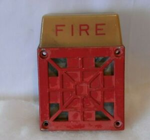 Wheelock Audible Signaling Appliance for Fire Alarm Service 7002T-24
