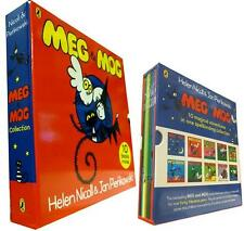Meg and Mog Box set 10 Books Collection Age9-12  Illustrated Puffin PB English