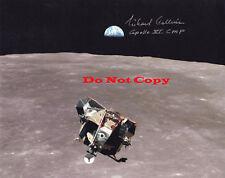 MICHAEL COLLINS APOLLO 11 - EAGLE ASCENT autographed 8x10 photo RP