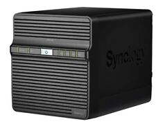 SYNOLOGY DS418j 4-Bay-All-in-One NAS LAN RJ45 Laufwerksgehäuse * NEU *