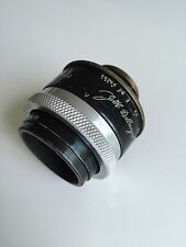 Dallmeyer London 1 inch f0.99 lens 25mm f/0.99 C-mount lens