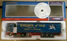 Corgi 75405 Leyland DAF Curtainside Knights of Old Ltd Edition No. 0004 of 4000