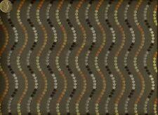 Crypton® Paul Brayton Fun Majic Modern LEAD GRAY& Orange Upholstery Fabric