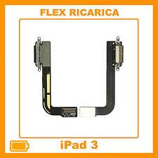 FLAT FLEX CONNETTORE DI RICARICA DOCK CARICA DOCKING APPLE IPAD 3